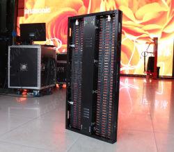 Transmitância elevada P10 Cortina de LED SMD Cores de exibição de vídeo