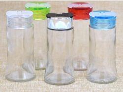 150ml en verre Cruet, capuchon en plastique de condiments sel poivre Shaker