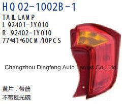 Feu arrière de haute qualité pour Kia Picanto/Eurostar/matin 2011 (Y010 92401-192402-1Y010)