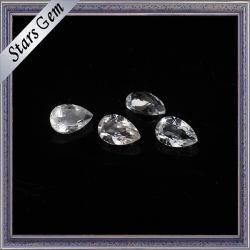Jewelry를 위한 3X5mm Tear Drop Clear White Natural Topaz