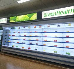 Frucht-Gemüse-Getränkegeöffneter multi Plattform-Bildschirmanzeige-Schaukasten