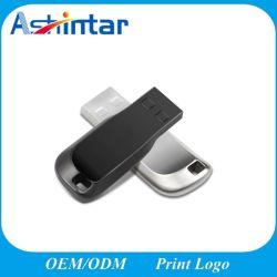 Metall-USB-Blitz-Laufwerk beweglicher wasserdichter Mini-USB-Stock