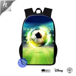 Imprimé en 3D de l'école de soccer de sac à dos Sac à dos pour les garçons Cool Mochilas