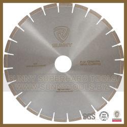 Silver brasé Diamond la lame de scie pour le Granite Lame diamant de coupe (SN-78)