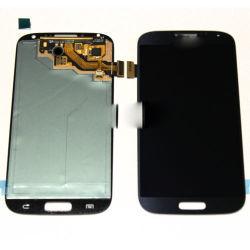 مجموعة شاشة LCD لجهاز الالتقاط الرقمي بشاشة اللمس لـ Samsung Galaxy S4 I9500 أسود