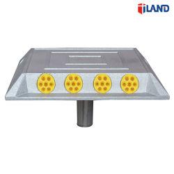 Hoher reflektierender Verkehrs-Plasterungs-Markierungs-Aluminiumlegierung-Straßen-Stift