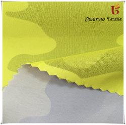 El poliéster tejido de bloqueo de la servidumbre de TPU de caparazón blando de impresos de prendas de vestir/Outdoor