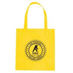 Светло желтого цвета бизнес хлопок Canvas сумки для оптовых (CTB-1021)
