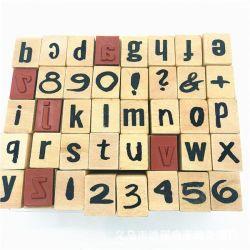 Carimbo Scrapbook Madeira personalizado para Kits de bricolage