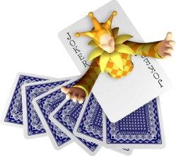 Kundenspezifisches Promation, das Spielkarten, Schürhaken, Brücke, Tarot, Spiel-Karten bekanntmacht