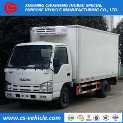 4x2 Japanese Food Meat Transportation Cooling Van Used Congelatore Trucks