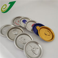 200の202の206のアルミ缶のふたの容易な開放端