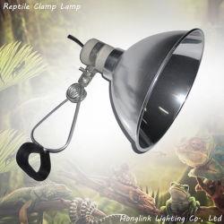 E27 8.5inch алюминиевый зажим рептилий лампы