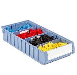 Entrepôt de pièces de rechange solide et durable étagère en plastique Bin