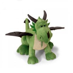 Drago verde farcito commercio all'ingrosso del giocattolo della peluche del drago