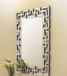 Excelente design Arte Decorativo de parede Sala de estar conjuntos de console do Espelho