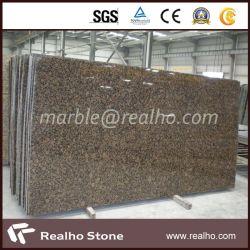 prix d'usine poli pour les comptoirs de granit brun Baltique