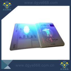 Kundenspezifische UVtintendrucken-Sicherheits-Papier-Broschüre