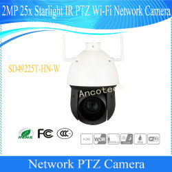 2 MP Dahua Rede de vigilância CCTV PTZ dome exterior IP Câmera sem fio WiFi de Vídeo Digital Camera (SD49225T-HN-W)