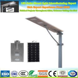 Mikrowellensensor, 30 W, 40 W, 60 W, 80 W, 100 W, 120 W, LED-Logo für den Außenbereich, integrierte, Solarbetriebene LED-Straßenbeleuchtung In Einer einzigen Plaza-Lampe