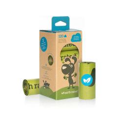 Cocô de cachorro biodegradável atacado bolsas para cães e animais de estimação, Melhor Sacos Cocô compostável