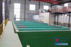 نظام طلاء المسحوق الذي يعمل على معالجة خزان DIP