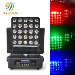 25ПК 4в1 DMX PRO LED свет перемещение головки вымыть эффект освещения сцены