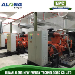 고품질 20~500kw Biogas 발전기 Set/CHP System/Co-Generation/Genset 발전소
