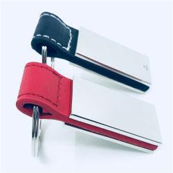 高品質のカスタムアクリルの革Keychainの締縄