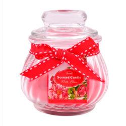 Fiesta de Bodas personalizados en forma de calabaza vela de cristal con tapa