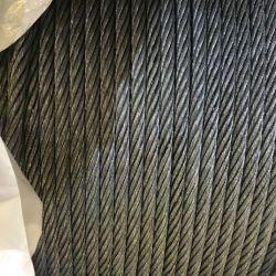 95%Zn 5%Alの合金が付いている7*7 8mm Galfanの鋼線ロープ