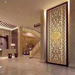304のカラー装飾の区分ホテルおよび家部屋の区分のための装飾的な部屋ディバイダのステンレス鋼シートスクリーン