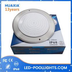 Ultra mince 316ss 12V AC 42W 60Hz Couleur lampe LED sous-marine Piscine Fontaine pour piscine