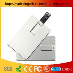 De promotie OEM Stok van het Adreskaartje USB van de Aandrijving van de Flits van de Creditcard USB Plastic