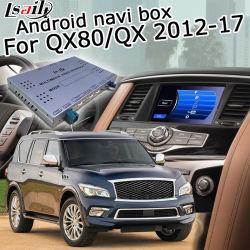 Sistema de navegación GPS Android Lsailt para Infiniti QX80 QX56 2012-2018 Waze Yandex Vista Trasera Carplay opcional