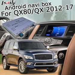 В Android Market Lsailt система навигации GPS для Infiniti Qx80 Qx56 2012-2018 Waze Яндекс вид сзади Carplay факультативного