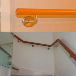 AISI 304/316 entfernbarer Aufbau-Treppen-Handlauf-passende Fabrik