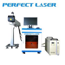 CO2 Laser-Markierungs-Maschine stellt für Non- Metall auf lederner Plastikflasche 150W her