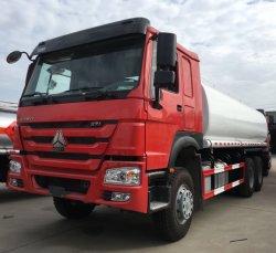 Gallon HOWO 371HP 5000 gso camion-citerne de l'eau de certificat