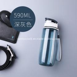 Logotipo personalizado plástico garrafa de água do desporto como oferta promocional