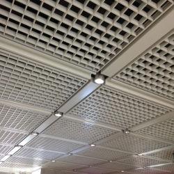 3D de Ideas que adornan la cuadrícula de aluminio acabado de techo material para la decoración de interiores