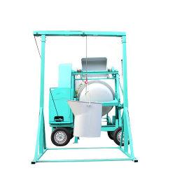 La capacidad de mezcla de 350L Oncrete Stand Mixer con el levantamiento de la tolva
