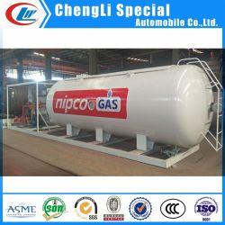 ASME 20M3 40M3 60M3 Mobile LPG Probane بوتاني موزع LPG أسطوانة خزان التخزين محطة زحافات تعبئة غاز الطهي غاز البترول المسال