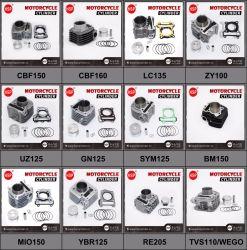 parti di motore 50cc/100cc/125cc/150cc/200cc per il cilindro dei pezzi di ricambio dei motocicli della rotella bici/Tricycle/3 del motociclo/motorino/sporcizia della Honda/Suzuki/YAMAHA/Bajaj