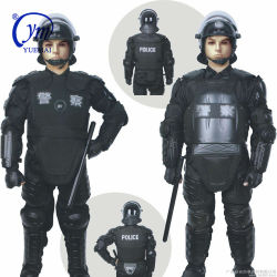 La policía militar de protección de cuerpo completo traje antidisturbios/chalecos anti motín Palo/Anti Riot Gear