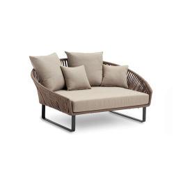 Im Freienmöbel-Edelstahl-Rahmen-Sofa-Bett-Hotel-Möbel