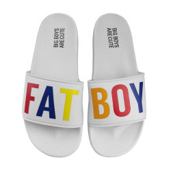 Les sandales hommes Custom Occasionnel Occasionnel des pantoufles, 2019 Fashion ESD Chaussons personnalisés pour les hommes, Private Label EVA sandale mâle garçons pantoufles