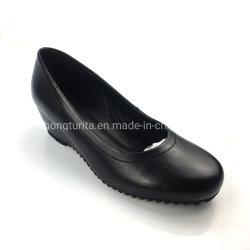 Calcanhar de cunha mulheres Tribunal Calçados calçado profissional