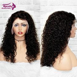 100% de la mejor onda de agua lleno Brasileña de encaje peluca cabello humano.