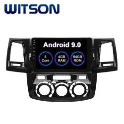 """Witson Android 9.0 автомобильной аудиосистеме для Toyota 2012 Хайлюкс"""" Руководства кондиционер версии 4 ГБ оперативной памяти 64Гб флэш-памяти большой экран"""